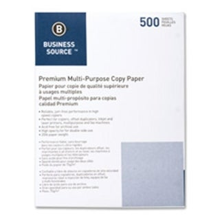 Multipurpose Paper- 20lb.- 92 Bright- 3HP- 8-.50in.x11in.- 10RM-CT