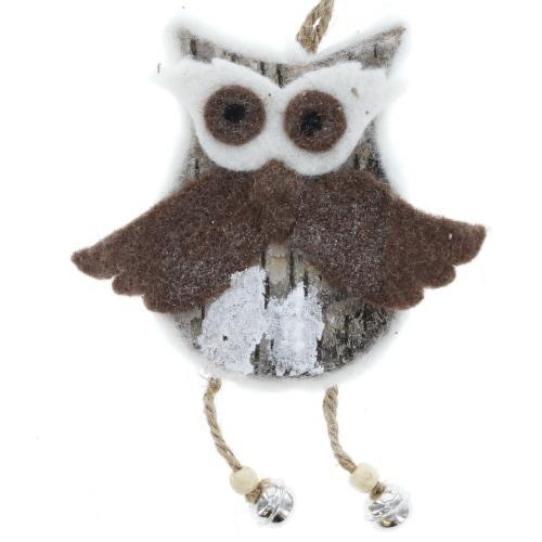 Owl Bark Ornament
