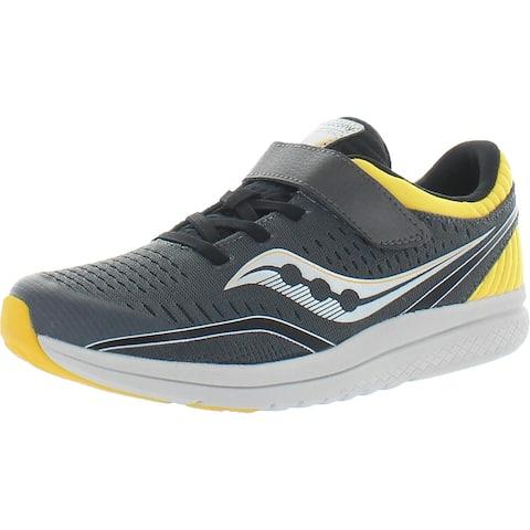 Saucony Boys S-Kinvara 11 A/C Walking Shoes Performance Lifestyle - Grey/Yellow