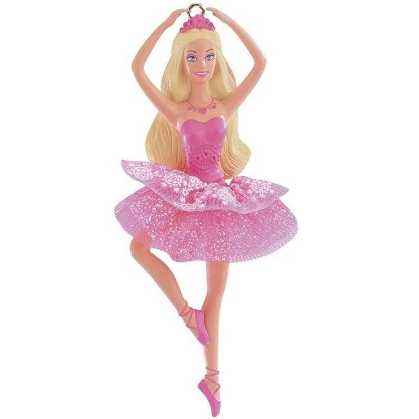 Barbie Christmas Ornament.Carlton Cards Heirloom The Sugarplum Princess Ballerina Barbie Christmas Ornament