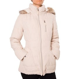 Laundry By Design Women's Short Quilted Puffer Jacket