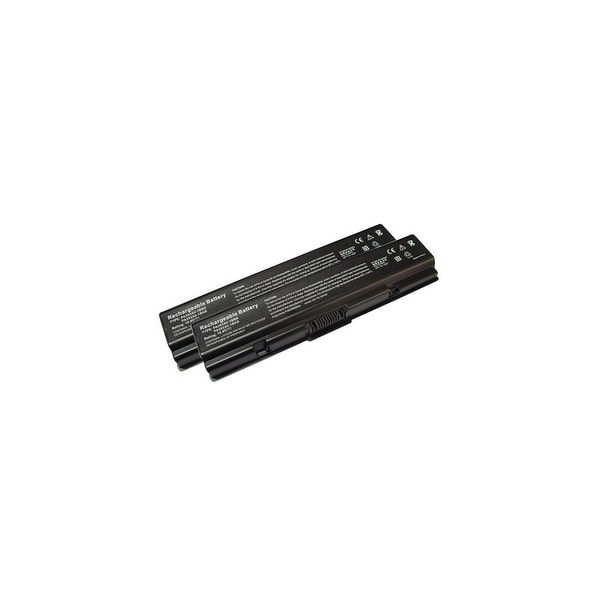 Replacement For Toshiba PA3534U-1BRS Laptop Battery (4400mAh, 10.8v, Li-Ion) - 2 Pack