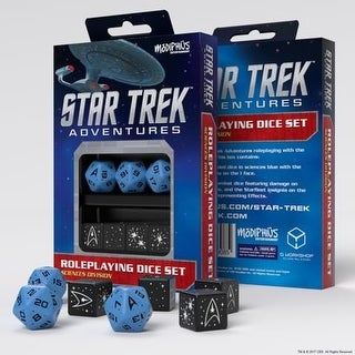 Star Trek Adventures: Science Division Dice Set - Blue