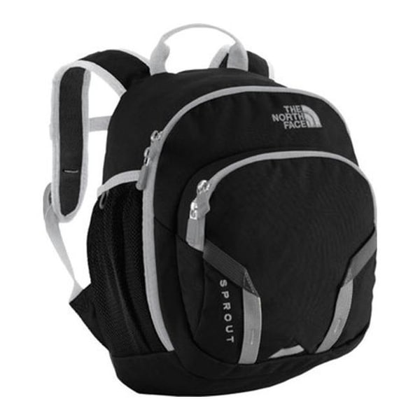 Shop The North Face Children s Sprout Backpack TNF Black High Rise Grey -  US Children s Child (Length None) - On Sale - Free Shipping On Orders Over   45 ... dca04a6e7e