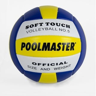 "8"" Sport Ball Multi-Purpose Soft Touch Volleyball Swimming Pool Accessory"
