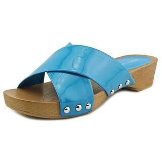 BCBGeneration Soho Women Open Toe Synthetic Slides Sandal