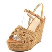LFL Lazer Women  Open Toe Canvas  Wedge Sandal