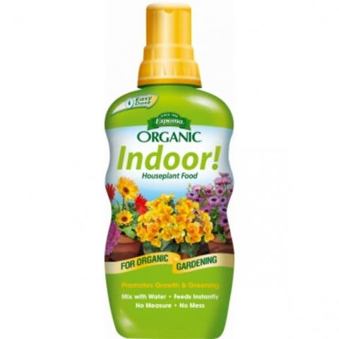 Espoma INPF8 Organic Indoor! Houseplant Food, 2-2-2, 8 Oz
