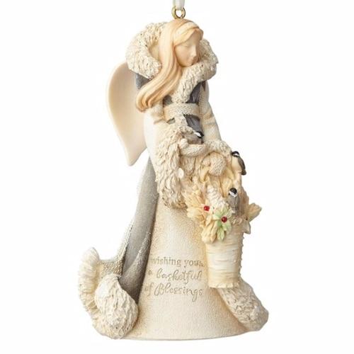 Woodland Angel Ornament