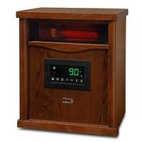 Ivation Portable Electric Space Heater, 1500-Watt 6-Element Infrared Quartz Mini Heater With Digital Thermostat