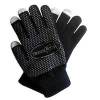 Boss Tech Knit Non-Skid Touchscreen Gloves for Cell Phones, Smart Phones, Tablet