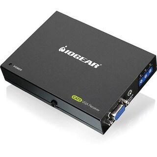 Iogear Gve140rx Vga Cat5e/6 Audio Video Receiver With Rgb Deskew Capability