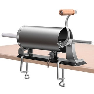 Costway 3.6L Sausage Stuffer Maker Meat Filler Machine Stainless Steel Commercial