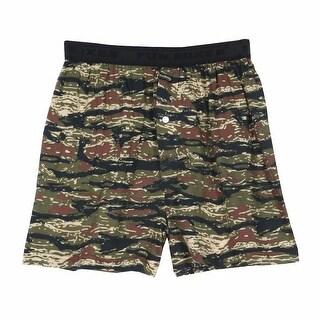 Unisex-Adult Camo Print Boxer Shorts