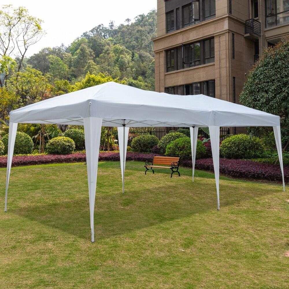2x2x2.5M Portable Folding Duty Gazebo Waterproof Marquee Garden Party Tent