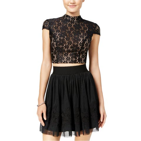City Studio Womens Tulle A-Line Skirt - 13