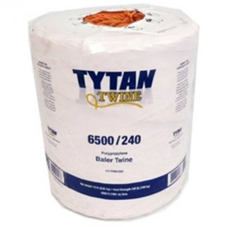 Tytan International PBT65240TONBP Polypropylene Baler Twine, 6500', Orange