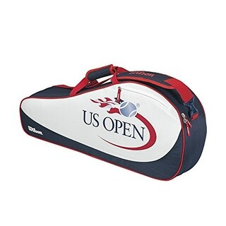 Wilson US Open 3-Pack Tennis Bag (Red/White/Blue)