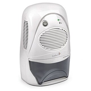Ivation GDM37 Powerful Mid-Size Thermo-Electric Dehumidifier Gathers Up to 20oz. per Day For Spaces Up to 2,200 Cubic ft.