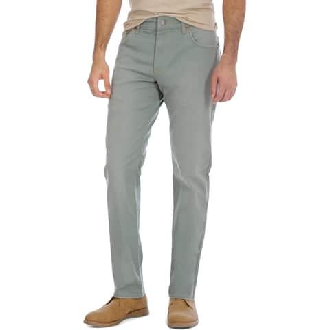 Wrangler Mens Jeans Denim Regular - Green