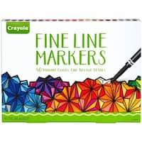 Crayola Fine Line Marker Set 40/Pkg-Classic