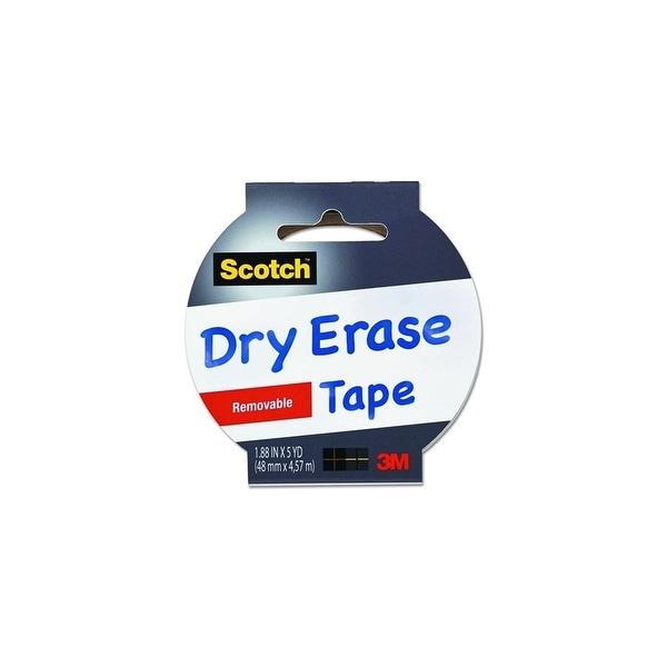 3M 1905R-DE-WHT Scotch Dry Erase Tape - White Dry Erase Tape