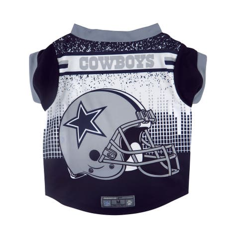 Dallas Cowboys Pet Performance Tee Shirt Size L