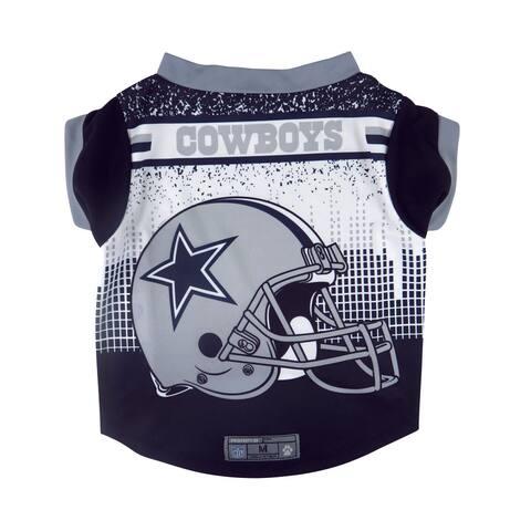 Dallas Cowboys Pet Performance Tee Shirt Size S