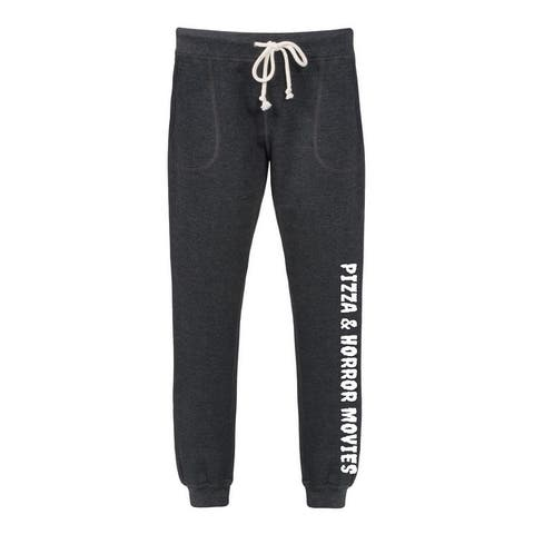 Pizza And Horror Movies - Women's Jogger Pant