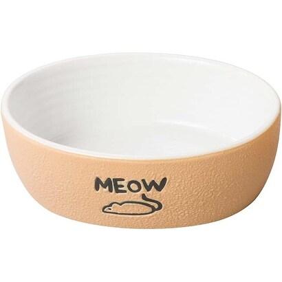 """Tan - Spot Nantucket Cat Dish 5"""""""