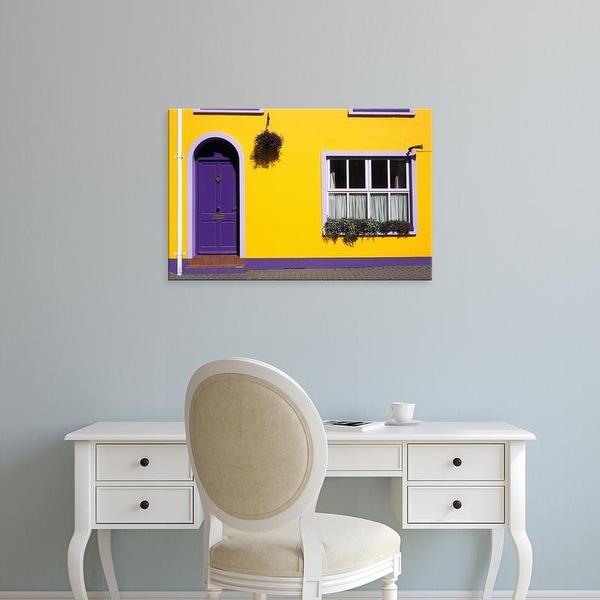 Easy Art Prints David Barnes's 'Bed And Breakfast' Premium Canvas Art