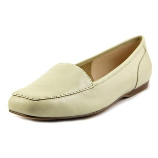 Bandolino Liberty Women Square Toe Canvas Gray Flats