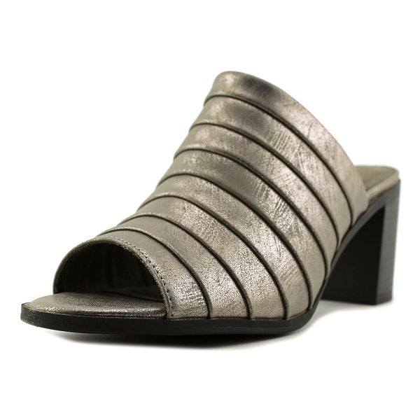 Easy Street Chella Pewter Met Sandals