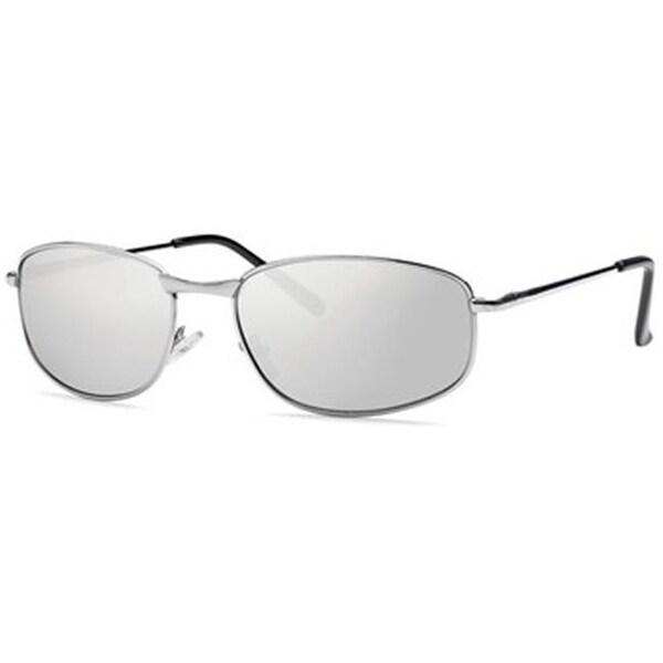 84fd74873b Shop Mia Nova Semi-Rimless Round Style Sunglasses