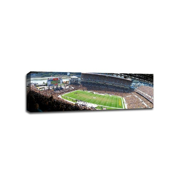 Pittsburgh - NFL - 36x20 Gallery Wrapped Canvas Wall Art