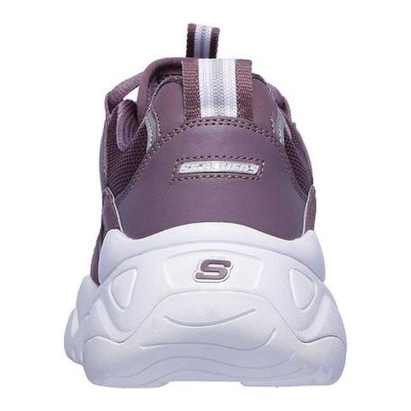 Shop Skechers Women's D'Lites 3 Zenway Sneaker Purple
