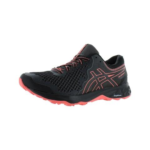 Asics Womens GEL-Sonoma 4 Trail Running Shoes Trainers Comfort - Black/Papaya