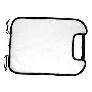 Unique Bargains Soft Plastic Washable Car Seat Back Protector Cover Pad Clear