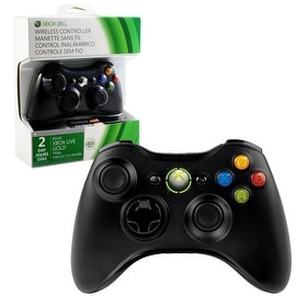Microsoft Black Wireless Controller for Microsoft Xbox 360 (2013 Edition)