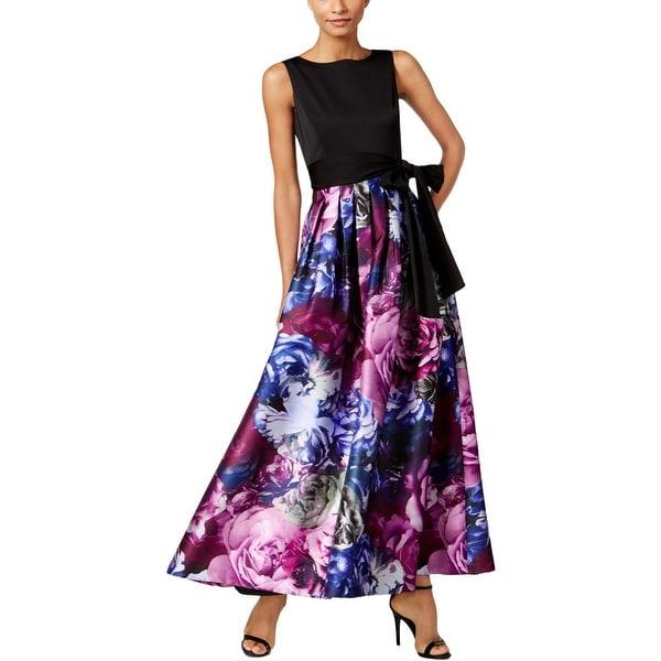 4d6072380d413 Tahari ASL Womens Semi-Formal Dress Floral Print Special Occasion
