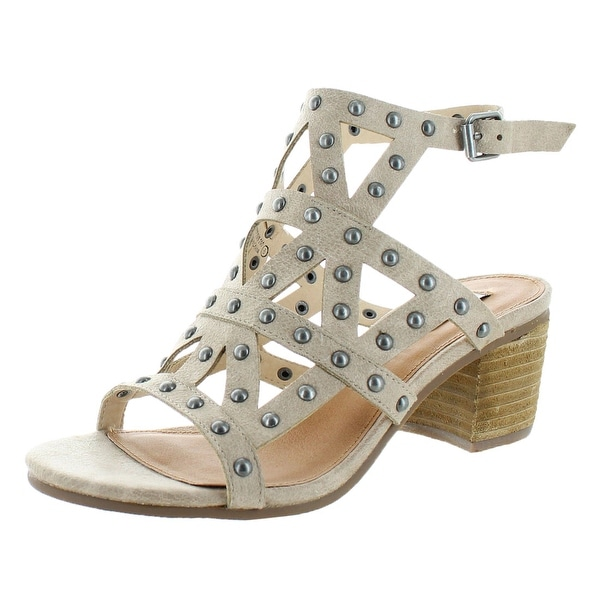 Not Rated Nevola Women's Studded Strappy Dress Sandals
