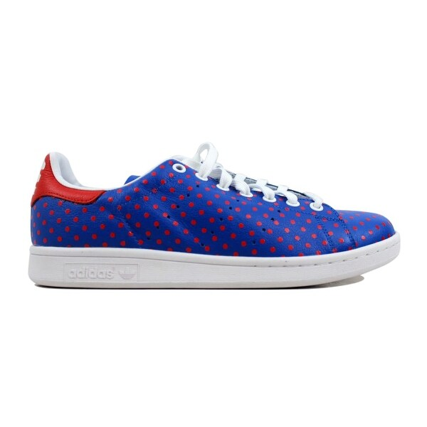 806d2a5999947 ... Men s Athletic Shoes. Adidas Men  x27 s Pharrell Williams Stan Smith  Small Polka Dot Blue Red