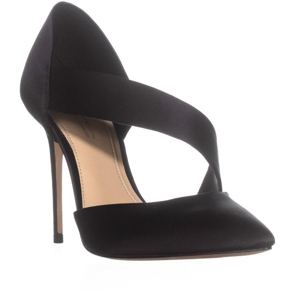 Imagine Vince Camuto OYA Strap Slip On Pumps, Black