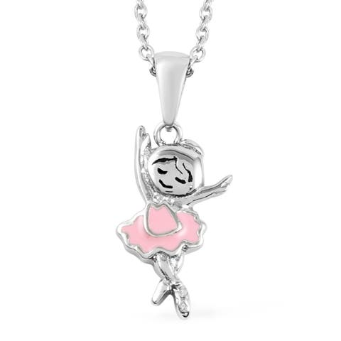 Stainless Steel Pendant Jewelry Necklace Jewelry Size 15-17 Inch - Size 15-17''
