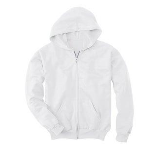 Hanes Comfortblend EcoSmart Full-Zip Kids' Hoodie Sweatshirt - M