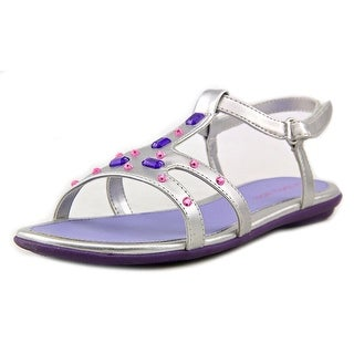 Jumping Jacks Crystal Open-Toe Synthetic Slingback Sandal