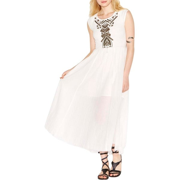 Free People Womens Casual Dress Full-Length Cut-Out