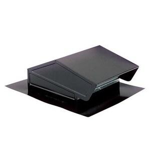 Broan 634 Roof Cap Convert Duct, Black