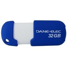 dane-elec DQ2546B Dane-Elec 2.0 USB 32 GB Pen Drive Aqua Capless