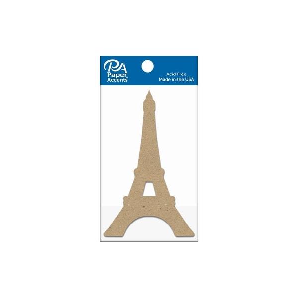 Chip Shape 8pc Eiffel Tower Natural